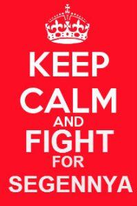 keep calm Segennya